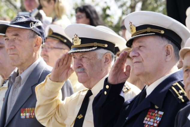 Когда военные выходят на пенсию