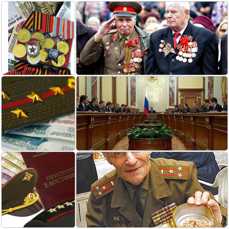 Оформление пенсии военным