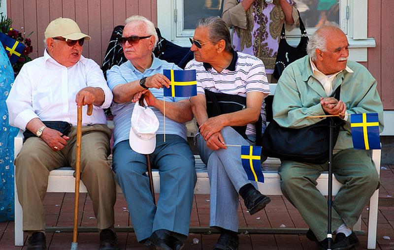 Пенсионный возраст в Швеции для мужчин и женщин