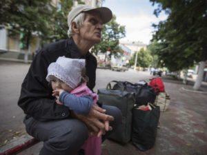 Пенсии переселенцам из зоны АТО