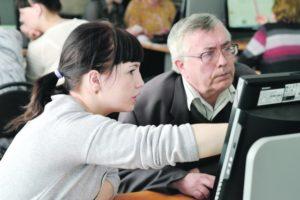 Бесплатное обучение пожилых людей компьютерной грамотности