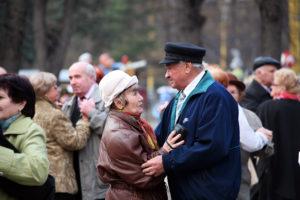 Танцы для пожилых людей