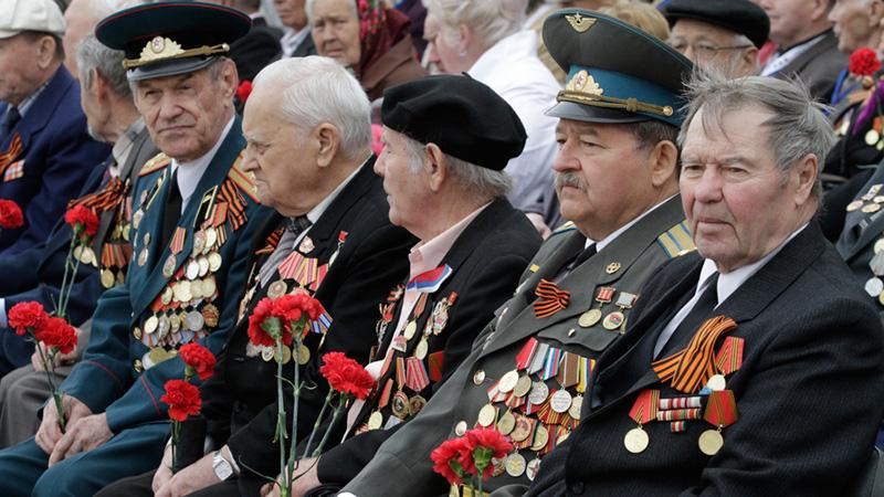 Сколько пенсия у ветеранов ВОВ?