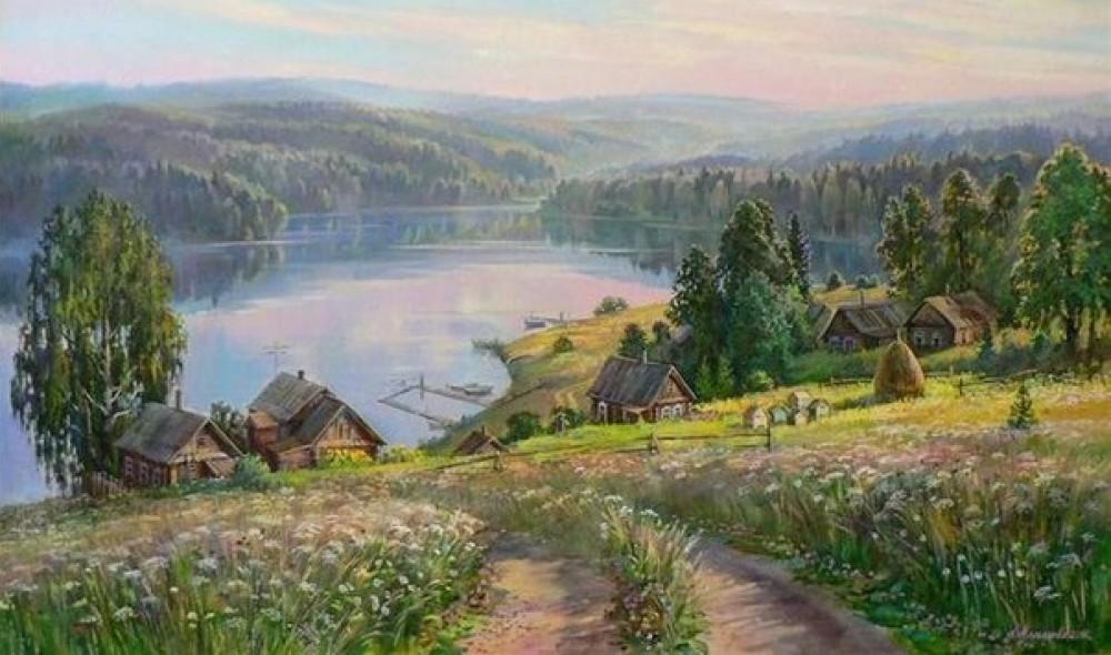 Жизнь на пенсии в деревне