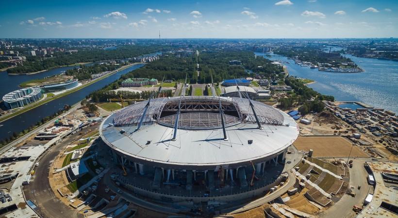 Новый футбольный стадион в Санкт-Петербурге