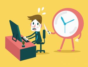Продолжительность рабочего времени в часах и минутах в течении суток