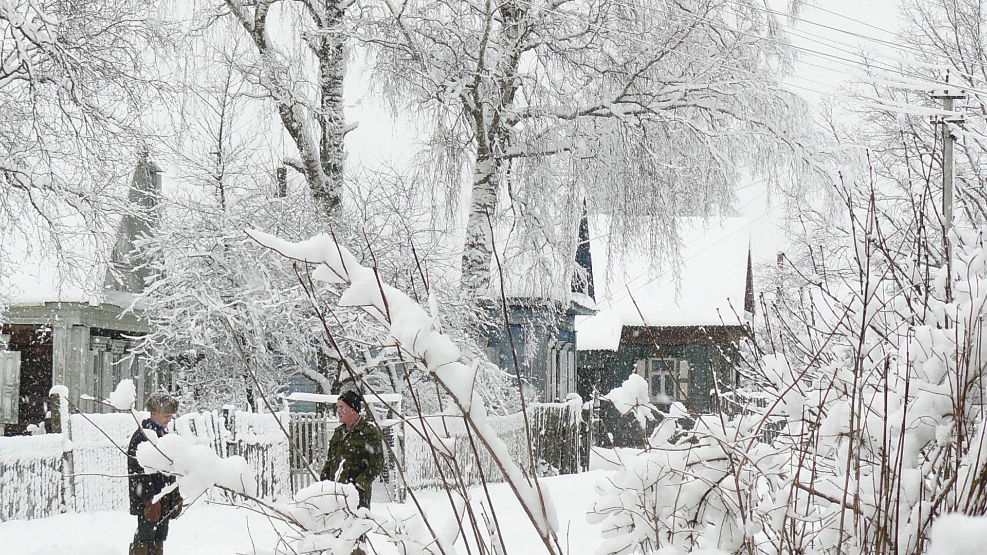 Часть вторая. Деревенская зимовка
