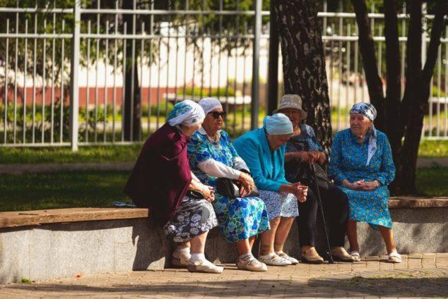 Количество пенсионеров в России сейчас