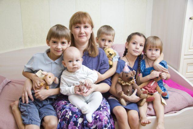 Многодетная мать во сколько лет выходит на пенсию