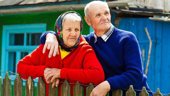 Пенсия сельским пенсионерам
