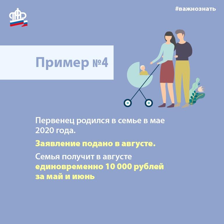 Выплата семьям с детьми до 3 лет пять тысяч рублей