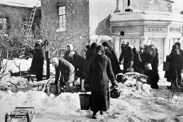 Пенсия блокадникам Ленинграда