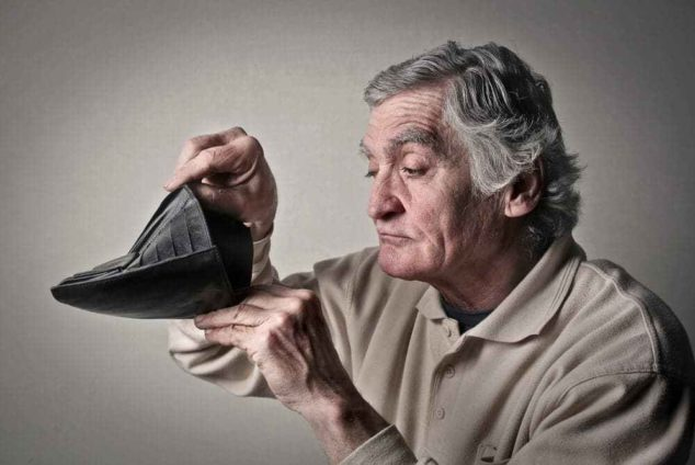Пенсия при банкротстве