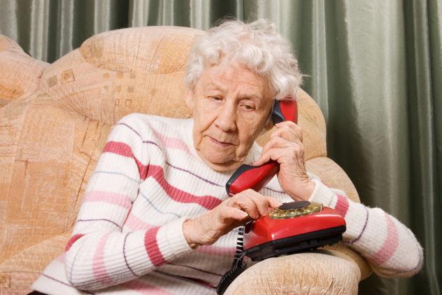 Бесплатная горячая линия для пенсионеров