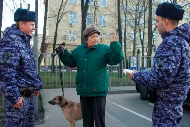 Штрафы пенсионерам за нарушение карантина
